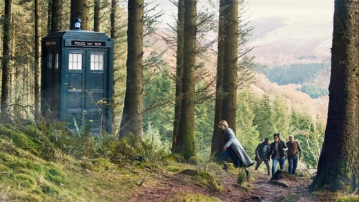 T.A.R.D.I.S. in the Woods - Doctor Who Season 11 Episode 9