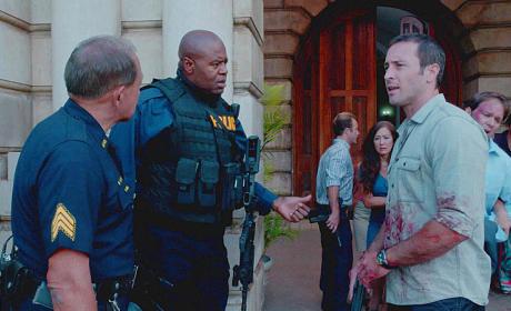 Hawaii Five-0 Premiere Scene