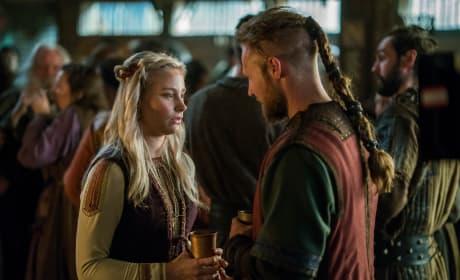 Ubbe and Margrethe - Vikings Season 4 Episode 17
