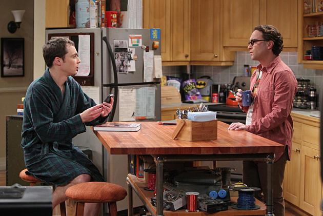 A Robed Sheldon