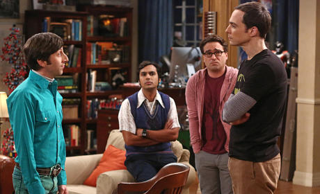 Sheldon's Class - The Big Bang Theory
