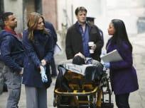 Season Finale Crime Scene
