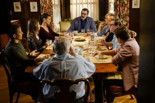 Reagan Family Dinner - Blue Bloods Season 7 Episode 7