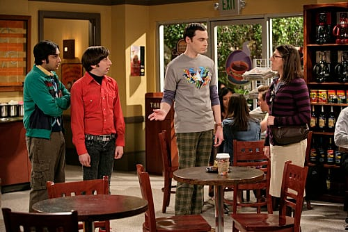 Sheldon and Amy Meet for the First Time