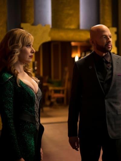 Gemma and Lex - Supergirl Season 5 Episode 19