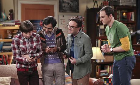 Ordering Tickets! - The Big Bang Theory Season 9 Episode 11