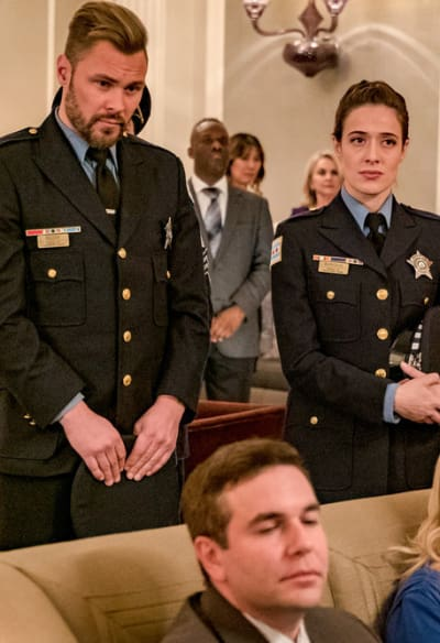 Reconsidering their decision - tall  - Chicago PD Season 6 Episode 11