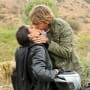 Deeks and Kensi Kiss
