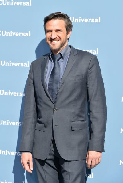 Raul Esparza Attends NBC Upfronts