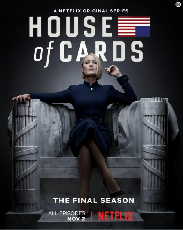 House of Cards Season 6 Poster