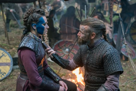 Face Paint - Vikings Season 5 Episode 10