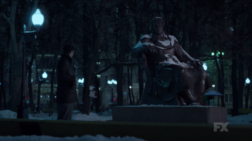 The Statue - The Americans