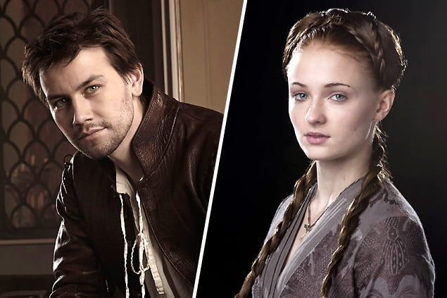 Bash (Reign) and Sansa Stark (Game of Thrones)