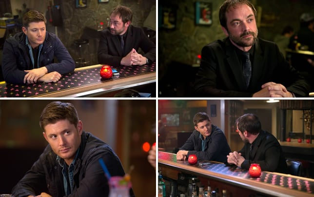 Crowley talks to dean supernatural