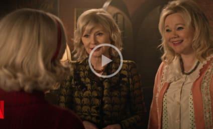 Netflix's Sabrina Meets the Original Aunts Hilda and Zelda in Epic Crossover Video