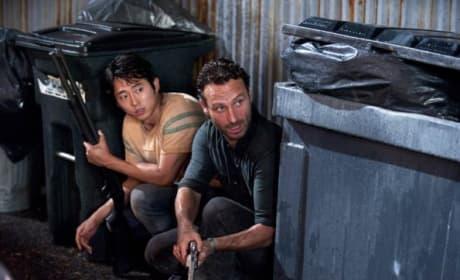 Glenn and Rick, Trapped