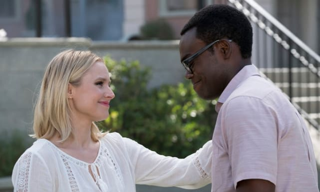Eleanor and Chidi - The Good Place