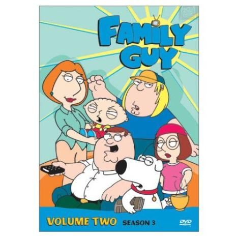 Family Guy Season Three DVD