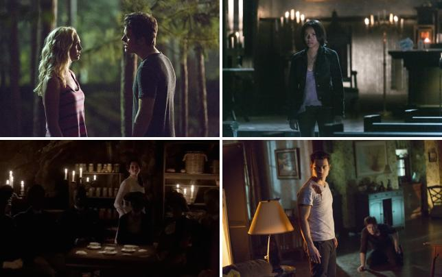 Caroline and stefan meet in the dark the vampire diaries s6e3