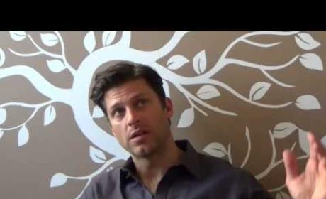 Greg Vaughan Set Interview