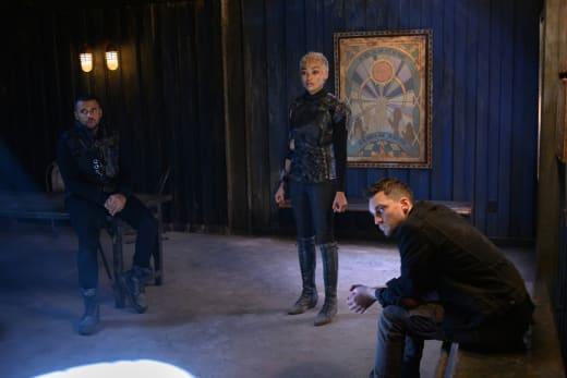 Gaia, Murphy, and Miller - The 100 Season 6 Episode 11