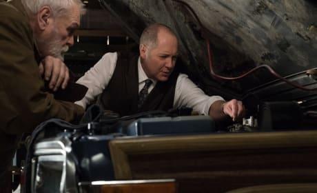 Working on a Car - The Blacklist Season 6 Episode 19