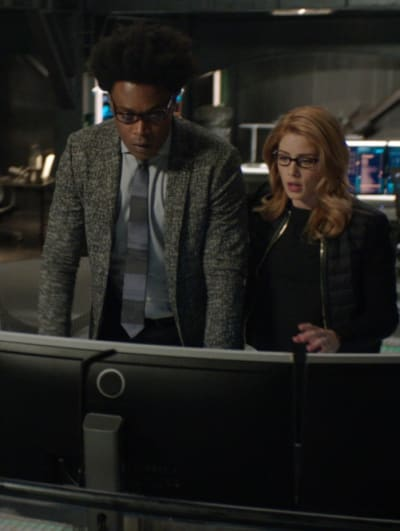 The Return Of Curtis  - Arrow Season 7 Episode 22