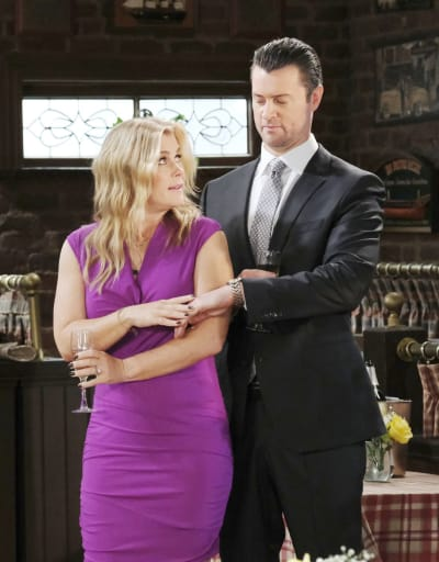 EJ is Suspicious - Days of Our Lives