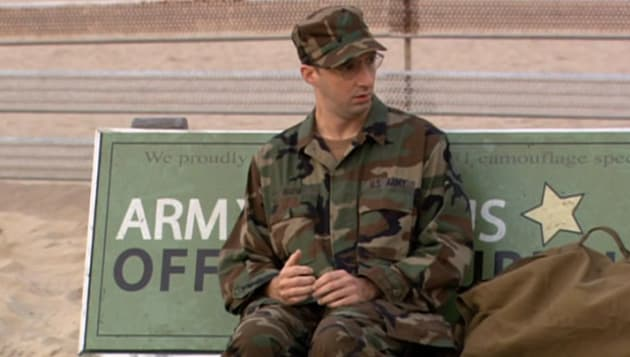Buster in the Army
