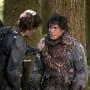 Kane Calms Bellamy Down - The 100 Season 3 Episode 2