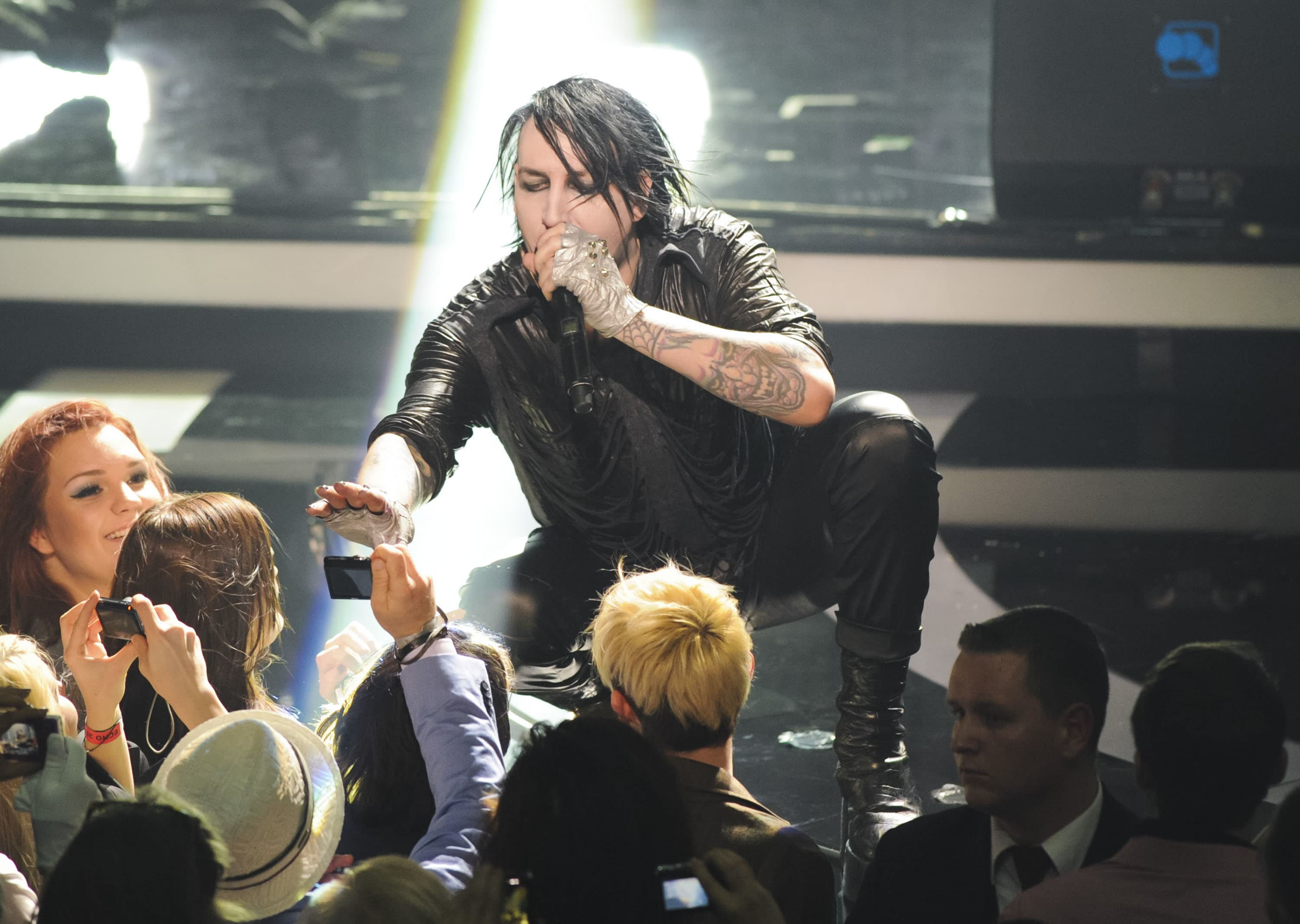 Marilyn manson to guest star on californication tv fanatic kristyandbryce Choice Image