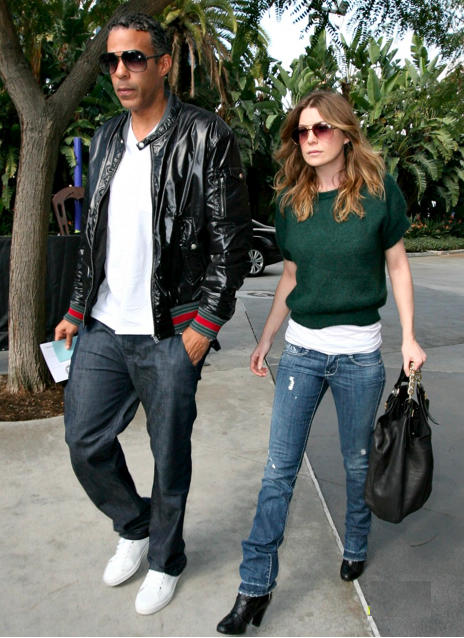 Chris Ivery and Ellen Pompeo Pic