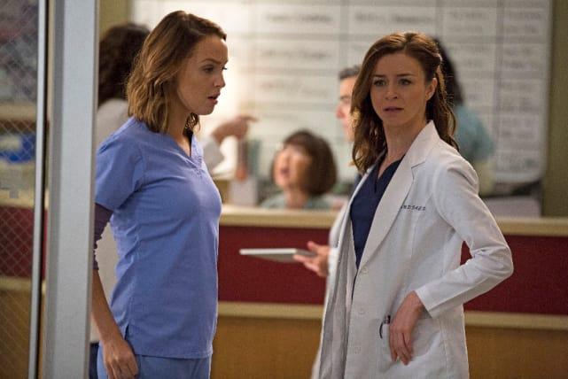 Jo and Amelia - Grey's Anatomy Season 12 Episode 4