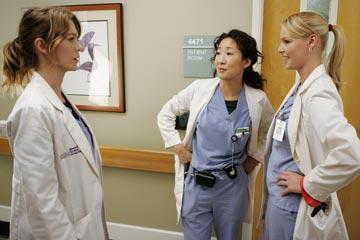 Meredith, Izzie, & Cristina