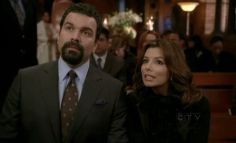 Carlos and Gaby at a Funeral