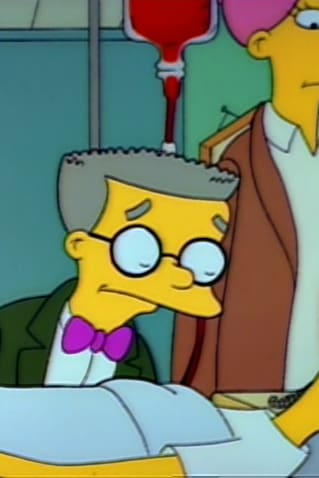 Dear Mr  Burns  I'm so glad you enjoyed my son's blood, and
