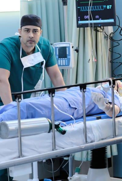Shira Down - Tall - The Resident Season 2 Episode 23