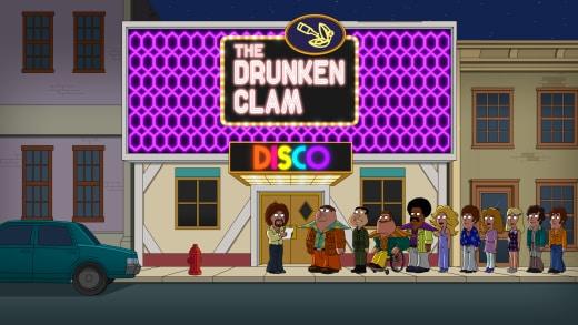 1970s Drunken Clam - Family Guy Season 16 Episode 16