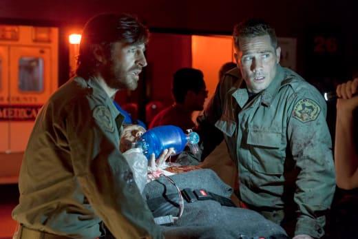 TC and Rick - The Night Shift Season 4 Episode 8