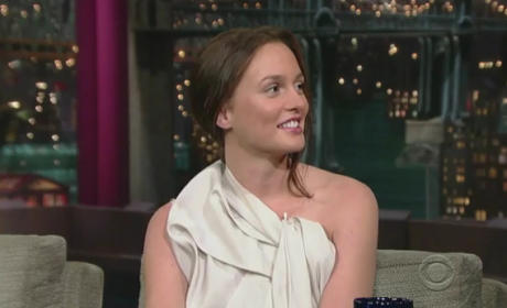 Leighton on David Letterman