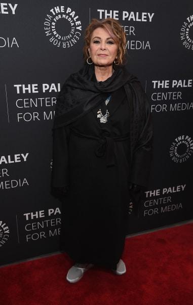 Roseanne Barr Smiles