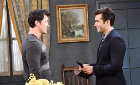 Paul and Sonny in Prague - Days of Our Lives