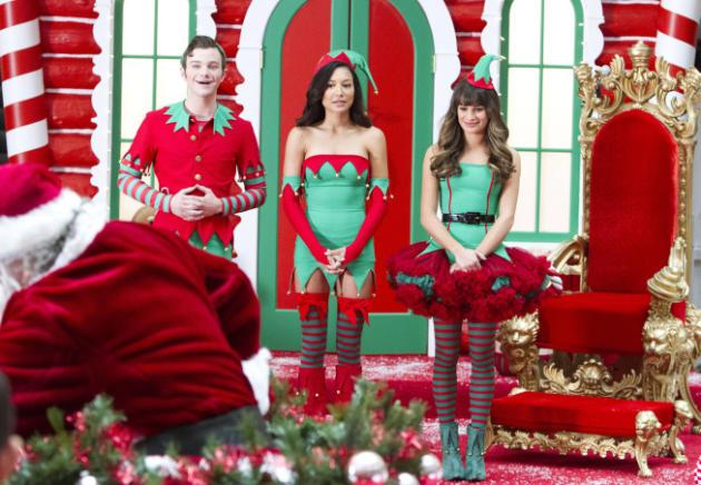 Christmas Time on Glee