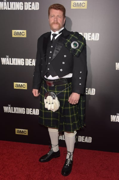 Michael Cudlitz Attends The Walking Dead Premiere