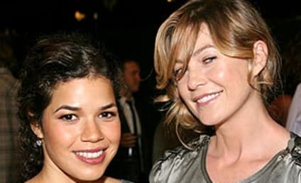 Ellen Pompeo at Pre-Emmy Awards Benefit