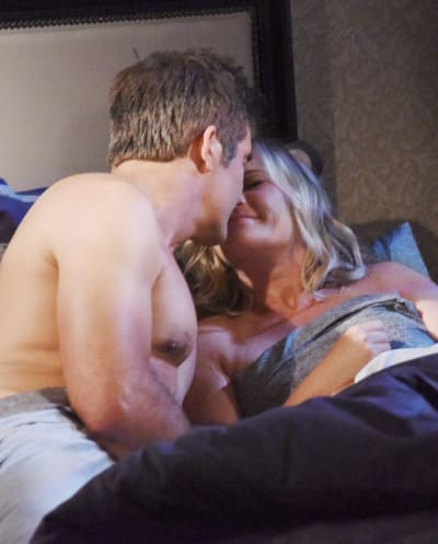 Rafe Jumps Into Bed With Sami - Days of Our Lives