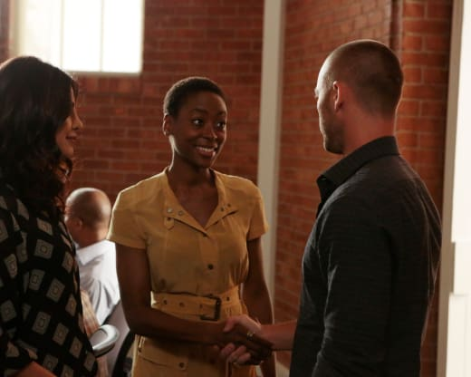 Lydia Bates - Quantico Season 2 Episode 1