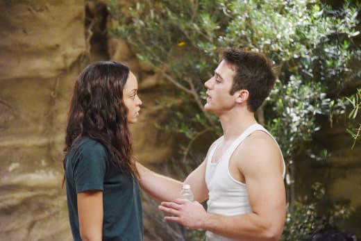 Lani and JJ On the Island - Days of Our Lives