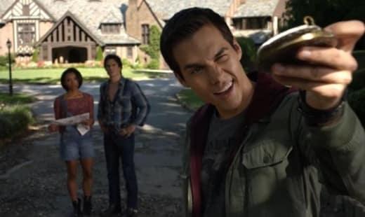 Kai, Bonnie, and Damon In 1994 - The Vampire Diaries