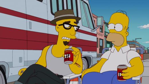 Homer's Cool New Friend